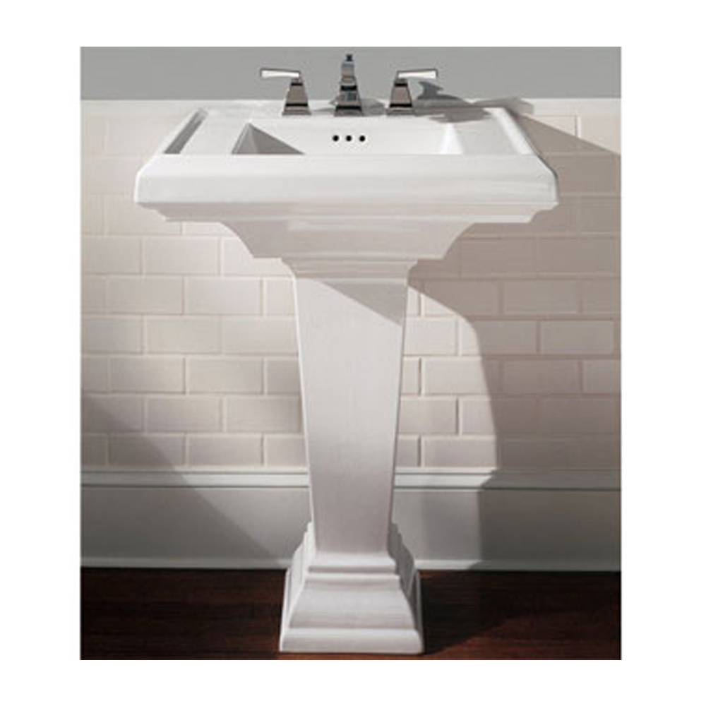 Shop For American Standard Town Square 24 Quot Pedestal Sink