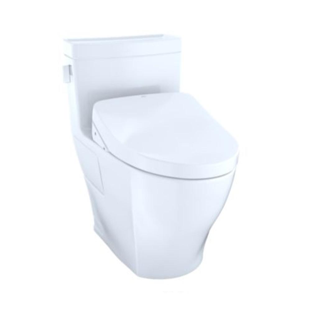 Shop TOTO Legato WASHLET®+ S550e OnePiece Toilet 1.28 GPF